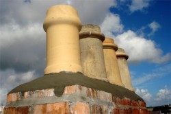 After chimney repair on a Dublin home by D. Coakley Ltd. Ireland