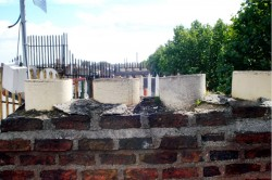 Before chimney repair on a Dublin home by D. Coakley Ltd. Ireland
